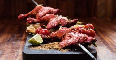 brochette de viande hala