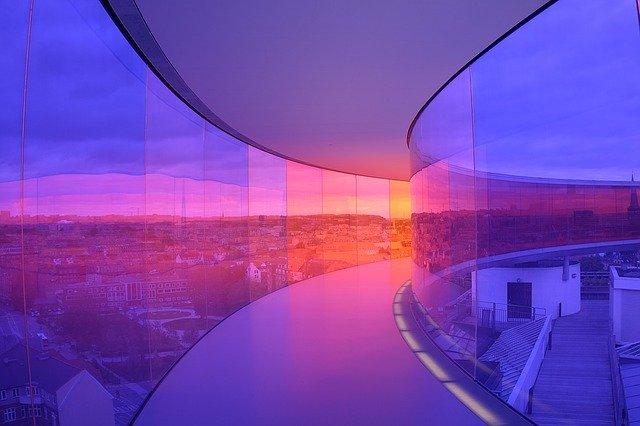 projection de lumière
