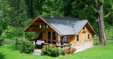 maison dans la nature