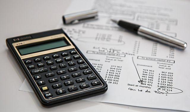 calculatrice avec feuille