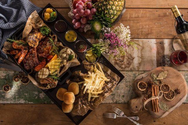 table de nourriture