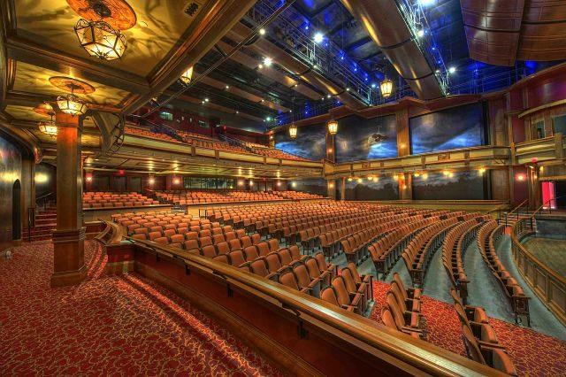 gradin de salle de théâtre