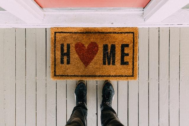 tapis de maison