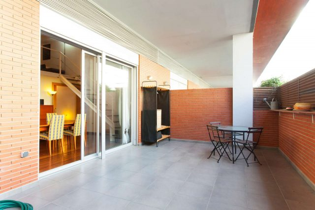terrasse appartement barceloneta