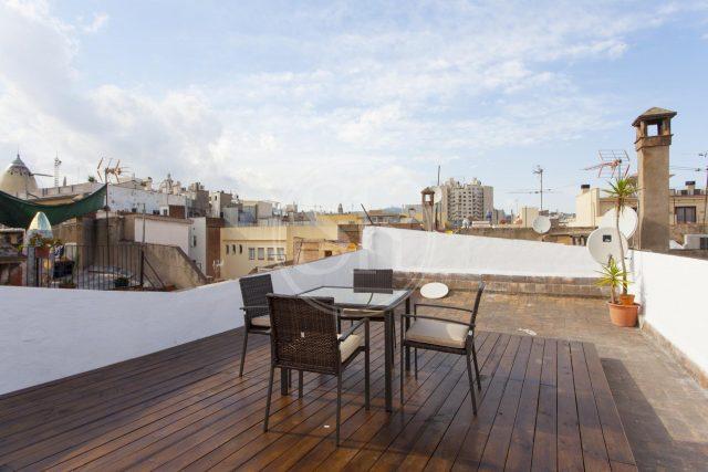 terrasse appartement ciutat vella