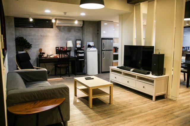 salon d'appartement