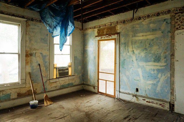 intérieur d'appartement vide