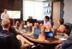 salle de réunion au travail