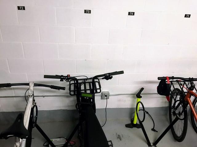 rack à vélos