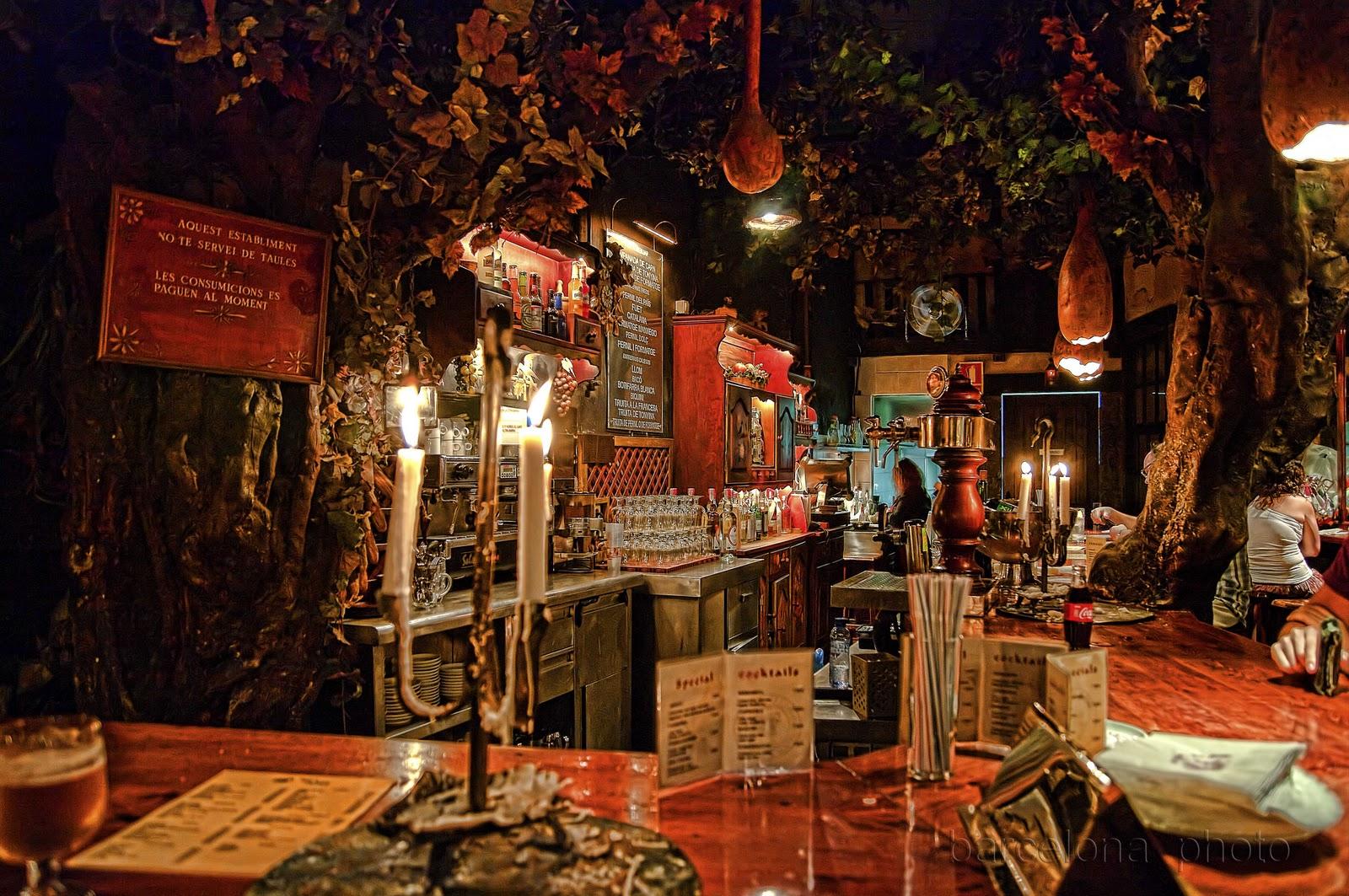 5 bars et restaurants insolites de barcelone shbarcelona for Restaurant atypique