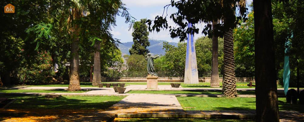 Video descubra el barrio de montju c diario de viaje barcelona gu a de eventos cultura y - Jardines de montjuic ...